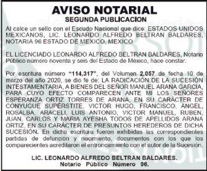 publicar avisos notariales el economista